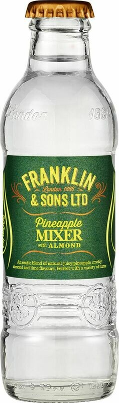 Franklin & Sons Pineapple and Almond (200ML x 12)