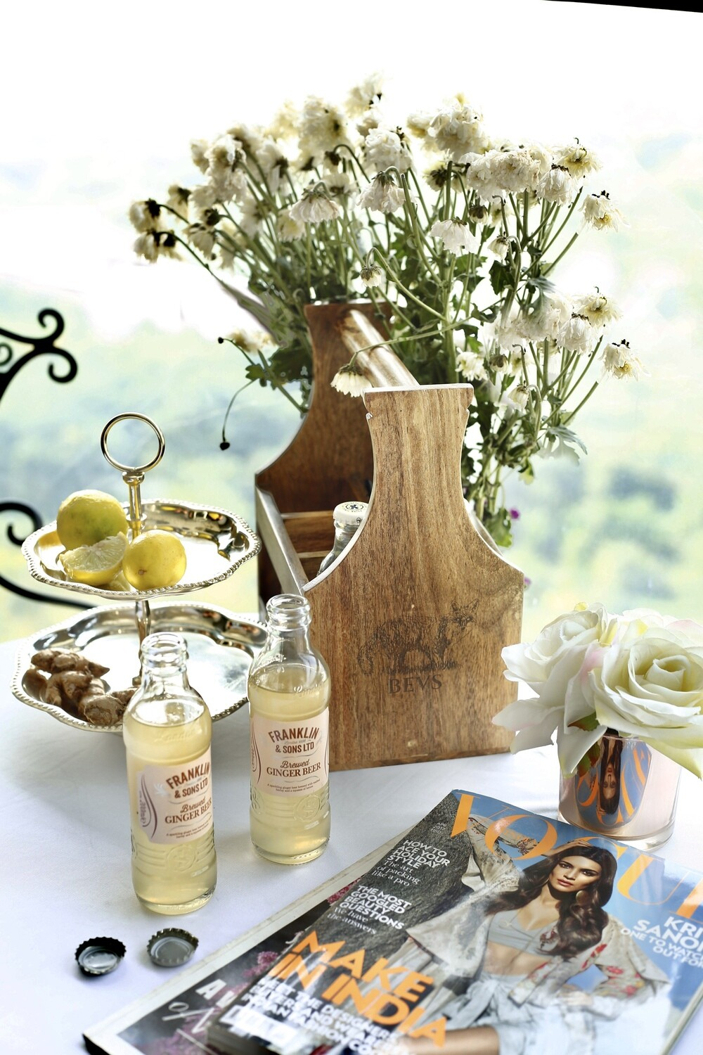 BEVS Wooden Caddy
