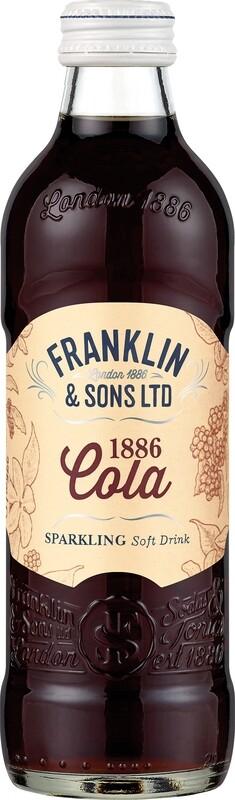 Franklin & Sons 1886 Cola (275ml x 12)
