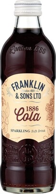 Franklin & Sons 1886 Cola (275ml x 12)
