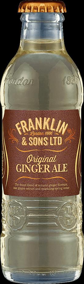 Franklin & Sons Original Ginger Ale (200ML x 12)