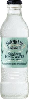 Franklin & Sons Elderflower with Cucumber Tonic (200ML x 12)