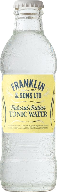 Franklin & Sons Natural Indian Tonic Water (200ML x 12)