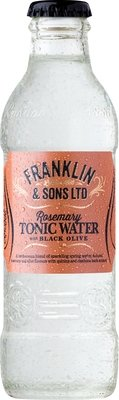 Franklin & Sons Rosemary with Black Olive Tonic (200ML x 12)