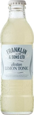Franklin & Sons Sicilian Lemon Tonic (200ML x 12)