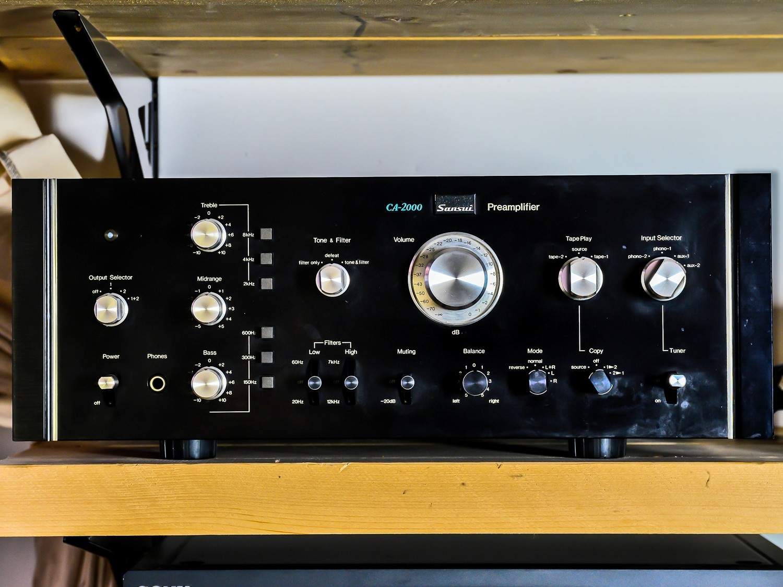 Amplificatore SANSUI CA-2000+ Pre-amplificatore BA-2000