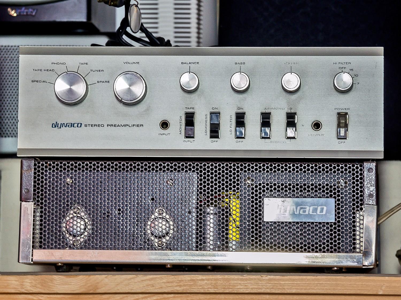 Dynaco Stereo Amplifier SCA-35 + Dynaco Stereo 120