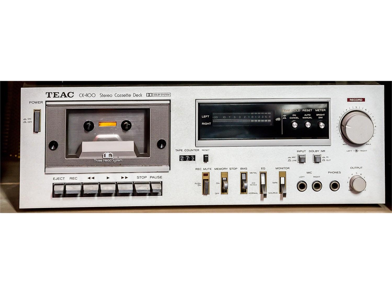 Lettore cassette TEAC CX-400