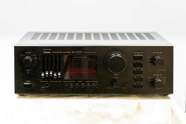 Amplificatore Sansui AU-G77X