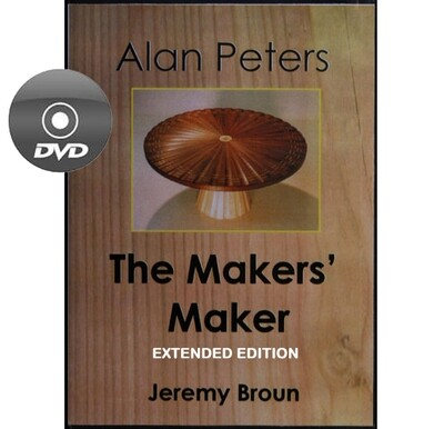 Alan Peters: The Makers' Maker - Extended Edition documentary DVD
