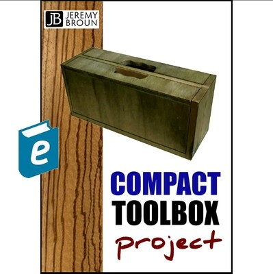 The JKB Compact Wooden Toolbox - video integrated online ebook. This amazing design by Jeremy Broun allows optimum access for tools and you can customise it. This is the bestselling product.