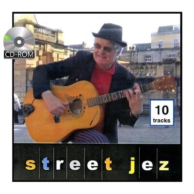 Street Jez - music album CD - 10 tracks