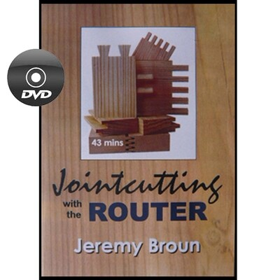 Jointcutting with the router - DVD