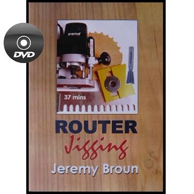 Router Jigging - DVD