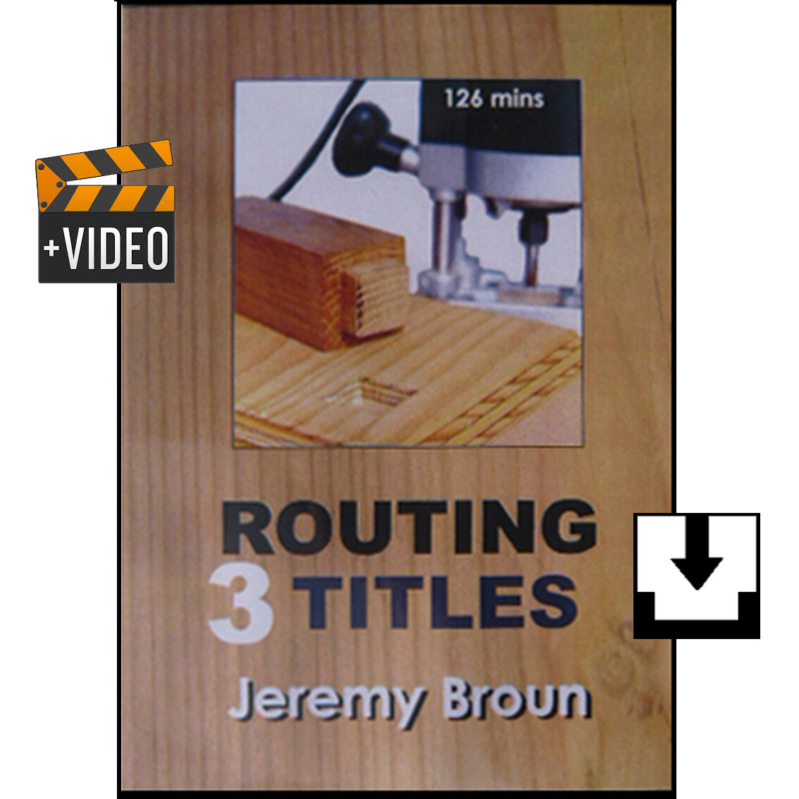 THREE ROUTING TITLES - Downloads (1) Essential Routing (2) Jointcutting with the Router (3) Router Jigging. These are the definitive videos on routing that are both comprehensive and in depth.