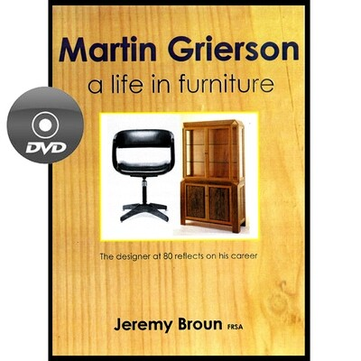 Martin Grierson - A life in furniture - DVD