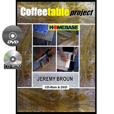 Coffee Table Design & Build Project - DVD & CD-Rom