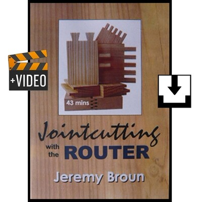 Jointcutting with the router - video download