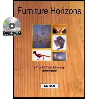 Furniture Horizons - a Churchill Travel Scholarship trip to Sweden, Finland & Italy in 1979 - CD-Rom
