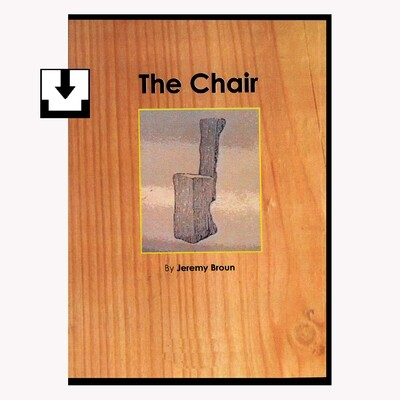 The chair - a 30 minute documentary film exploring the chair as an artefact of service and culture. Originally a DVD now available as a download.