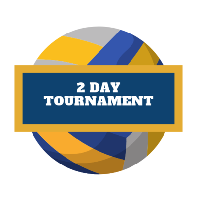 SUVL TOURNAMENT REGISTRATION - TWO DAY TOURNAMENT