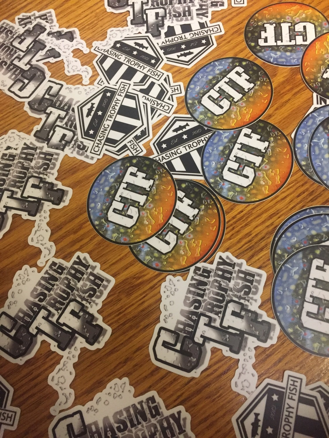 CTF Decals and Stickers