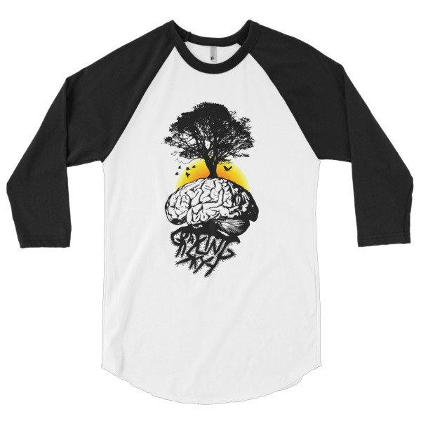 GS Growth 3/4 sleeve raglan shirt