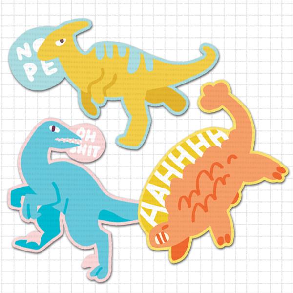 Dino Patch Set