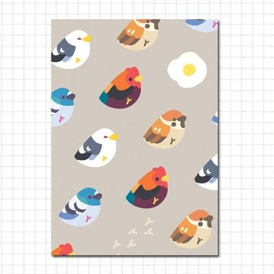 Sticker Book: Common Birbs