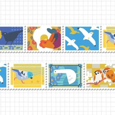 Stamp Tape: Common Birds