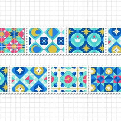 Stamp Tape: Blooming