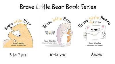 Brave Little Bear 3 Book Series