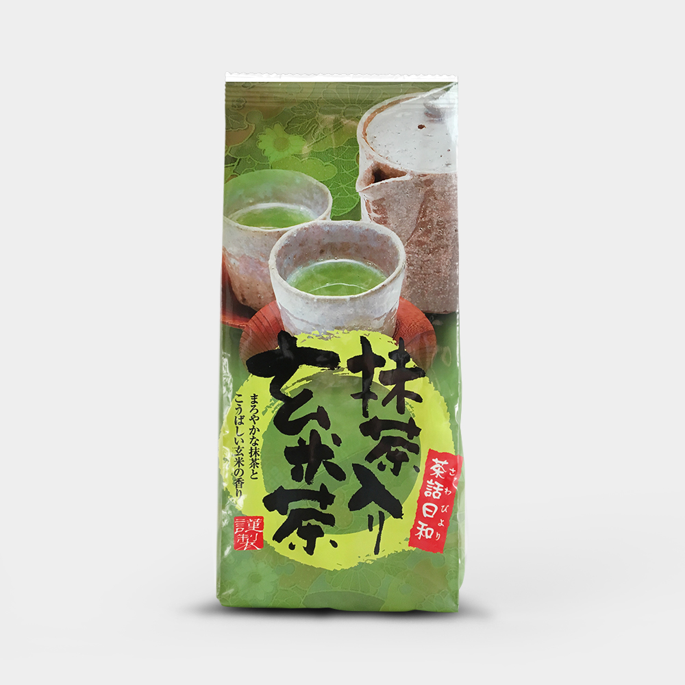 抹茶入り玄米茶  /  200g 00011