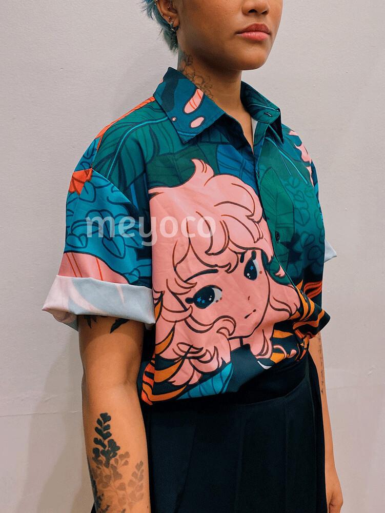 Forest Girl Button Up Shirt