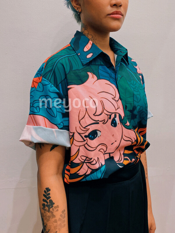 Forest Girl Button Up Shirt