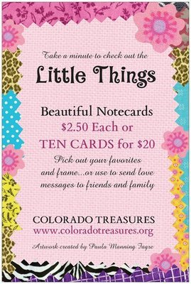 """""""Little Things"""" Notecards"""