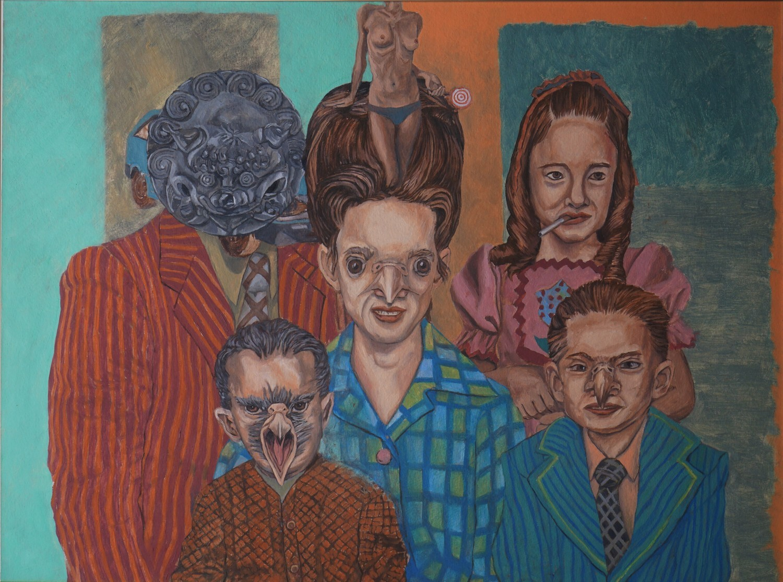 The Mysterious Hawklin Family, High Quality Print