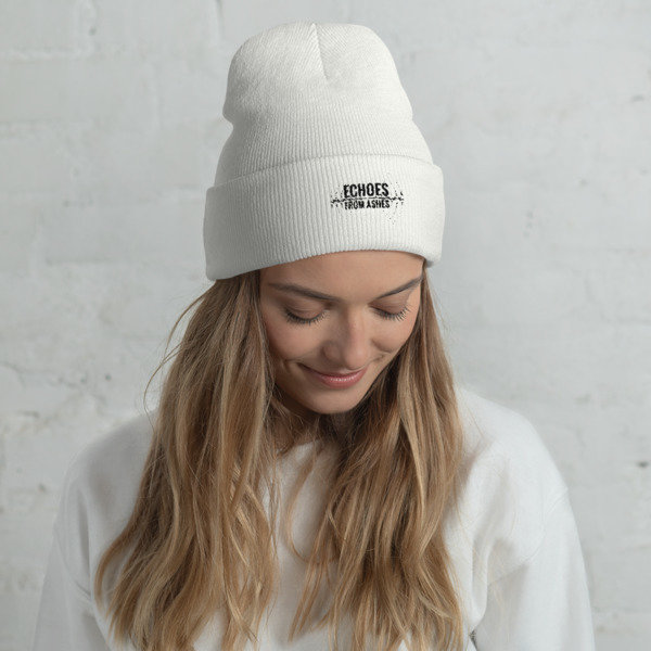 Echoes From Ashes Cuffed Beanie