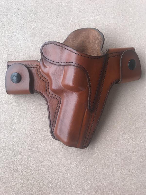 Ruger SP101 Chestnut Brown