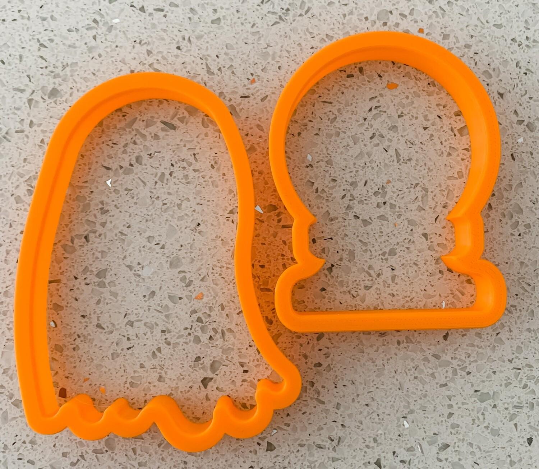 2 Piece Cutter Set for Halloween Lettering Class