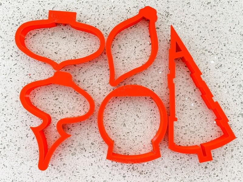 5 Piece Cutter Set for Ornaments Class