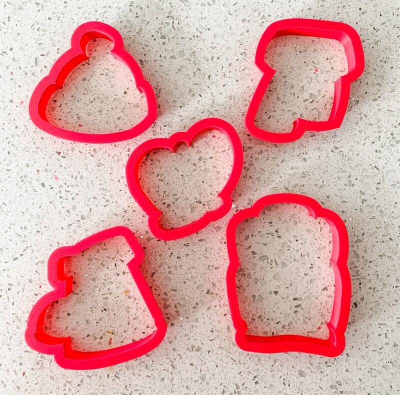 5 Piece Cutter Set for Winter Wear