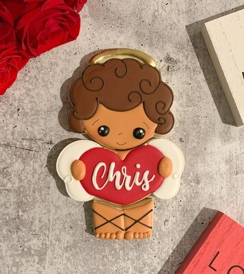 Personalized Cupid 3 Piece Cookie Set