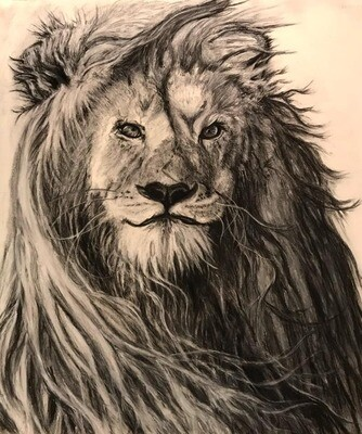 High Quality Giclee Print on Paper, In like a Lion- Always Winter