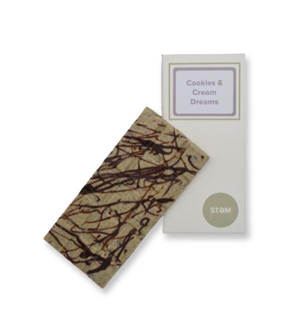 STEM Cookies & Cream Mushroom Chocolate Bar