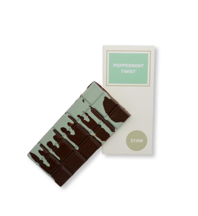 STEM Peppermint (Vegan) Mushroom Chocolate Bar