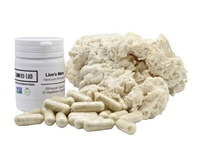 Lions Mane Supplement Capsules