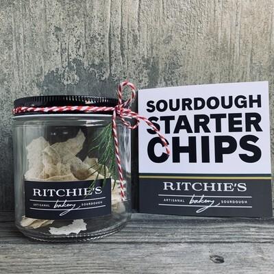 Sourdough Starter Chips