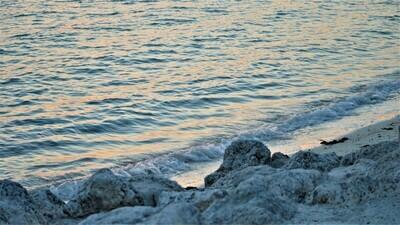 Ocean Sunset - Metal Print 18x12