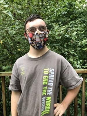Love Locks Face Mask
